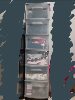 Plastic drawers/ storage containers for Sale in Lynwood, CA
