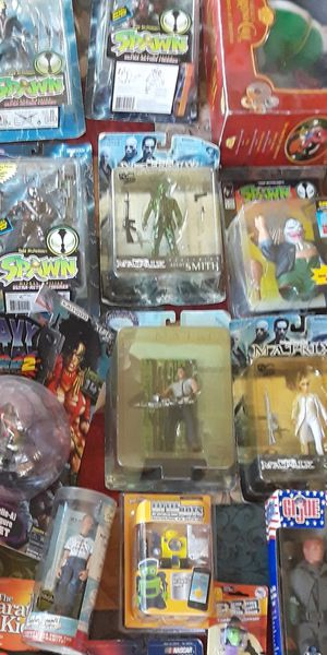 AWESOME COLLECTION OF BRAND NEW TOYS SPAWN KISS DISNEY & LOT'S MORE for Sale in San Bernardino, CA