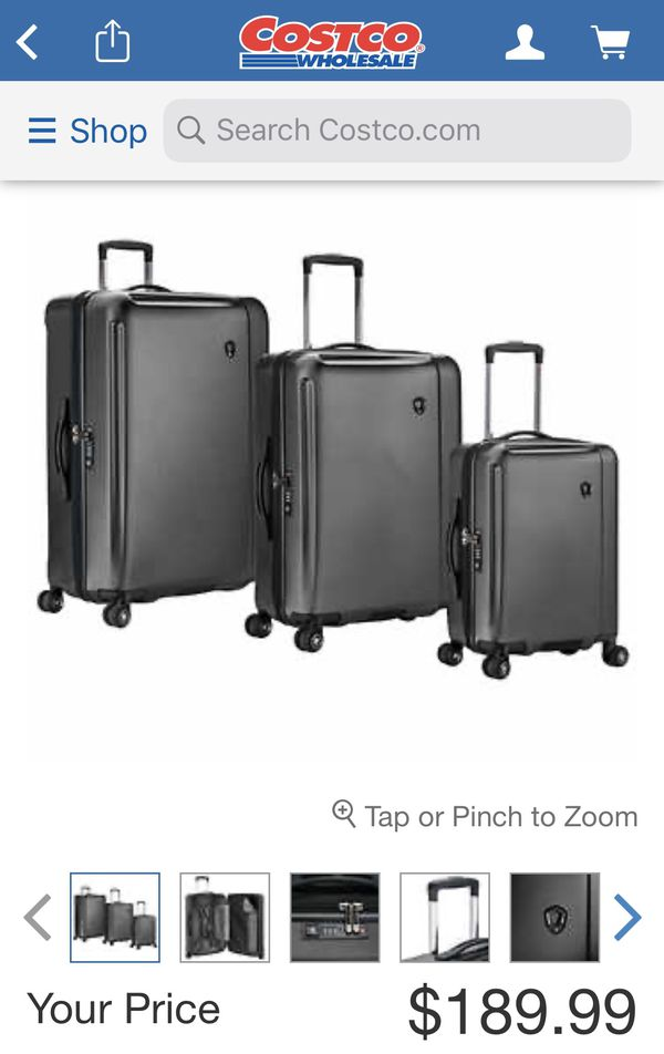 Brand New Traveler's Choice Luggage Set with original packing & labels