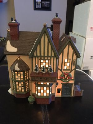 """Dickens Village Series """"J.D. Nichols Toy Shop"""" for Sale in Snohomish, WA"""