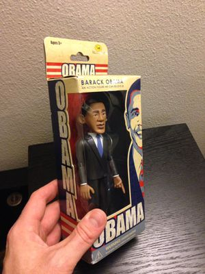 President Barack Obama action figure new in box for Sale in Seattle, WA