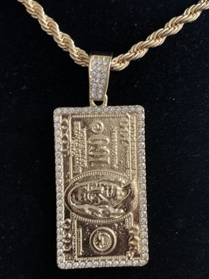 Iced-Out Pendant Necklace Charm (Please Read Description for Sale in Seattle, WA