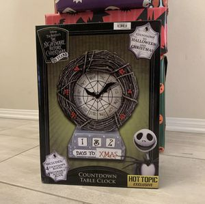Nightmare Before Christmas Countdown Clock for Sale in Porter Ranch, CA