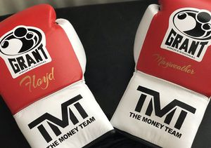 Floyd Mayweather TMT Special Edition Boxing Gloves for Sale in Houston, TX