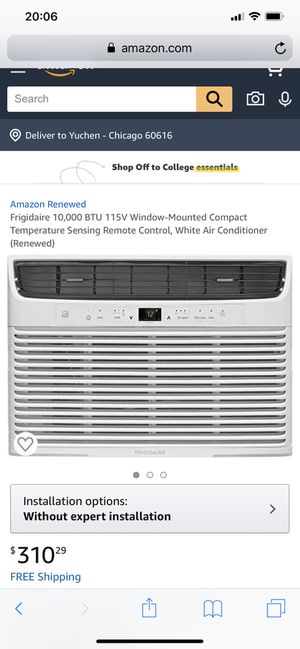 Frigidaire window AC for Sale in Chicago, IL