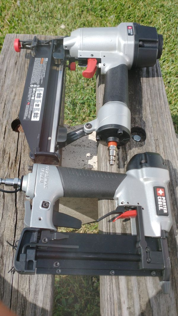 Porter Cable Nail Guns two to be exact
