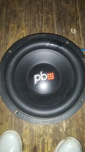 subwoofer 12 power bass for Sale in Fort Worth, TX