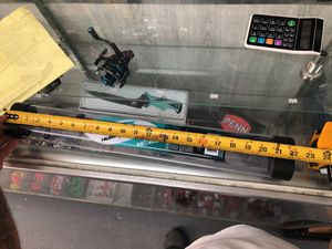 Telescope fishing rod. Vara para mandar pa cuba. for Sale in Miami, FL