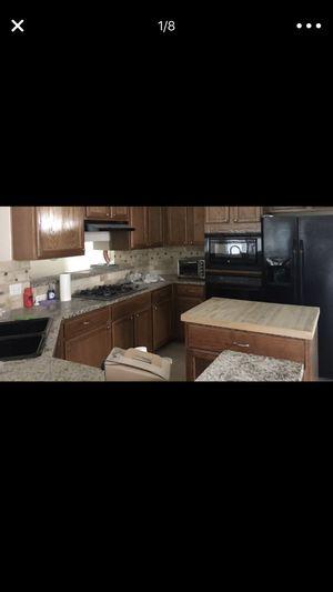 BLACK KITCHEN APPLIANCES BUNDLE SET for Sale in Round Rock, TX