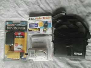 Olympus D 490 Digital Camera - Adapter And Reader for Sale in DeKalb, IL
