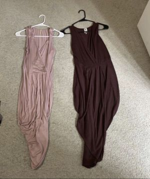 Size Medium Dresses with front split take both for $8. Checkout my other offers:) for Sale in Raleigh, NC