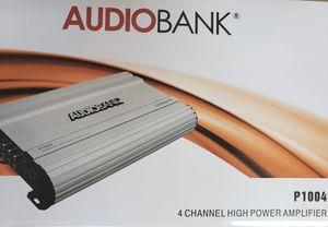 Audio Bank Amplifier 4 Channels 1000 Watts BRAND NEW for Sale in Orlando, FL
