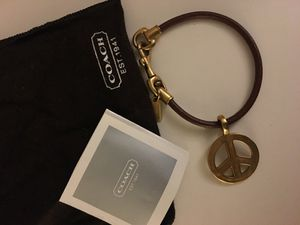 Coach Peace Bracelet for Sale in Los Angeles, CA