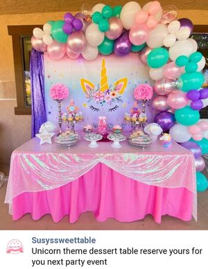 Balloon garland @susyssweettable for Sale in Lake Elsinore, CA