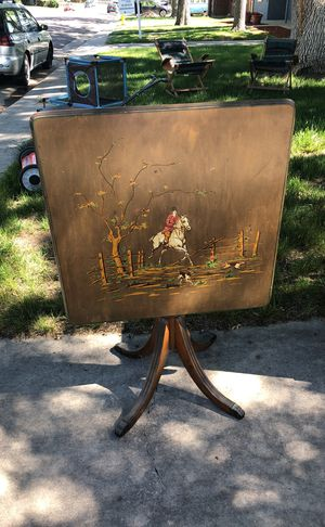 Antique Card Table for Sale in Wheat Ridge, CO