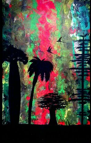 Silhouette Abstract Art (Originals) for Sale in Round Rock, TX