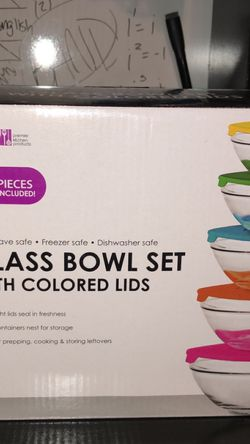 10 PC GLASS BOWL SET for Sale in Belleville,  IL
