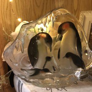 Glass Penguin Decoration for Sale in Elma, WA