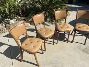 Antique Cafe bentwood chairs for Sale in San Diego, CA