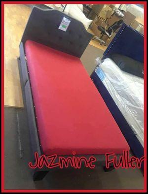 Twin bed frame with memory foam mattress for Sale in Glendale, AZ