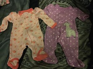 Premie baby girl clothes for Sale in Sacramento, CA