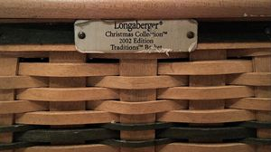 2002 Longaberger tm *Christmas Collection Basket* for Sale in Dunnellon, FL