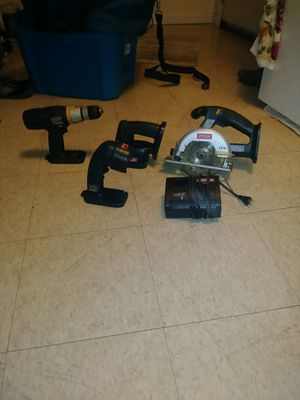 Ryobi chordless power tools and bag for Sale in Kingsport, TN