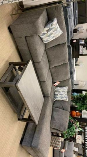 NEW ASHLEY BROWN LIVING ROOM SECTIONAL SOFA, COUCH》39 DOWN PAYMENT》SAME DAY DELIVERY. for Sale in Houston, TX