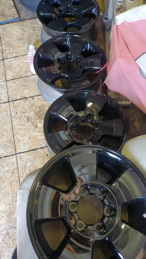 Olms new black wheels for toyota tacoma o nissan armada for Sale in North Chesterfield, VA
