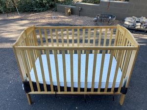 Baby crib and mattress for Sale in Young, AZ