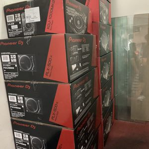 Pioneer DJ high and equipment all on Black Friday special for hours only left what are the biggest sale to end don't miss out and come down we clos for Sale in Los Angeles, CA