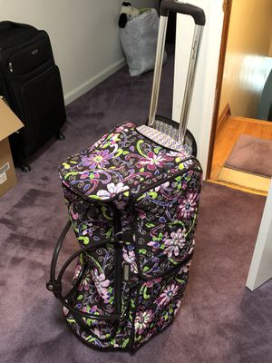 Large Vera Bradley rolling duffle for Sale in Linthicum Heights, MD