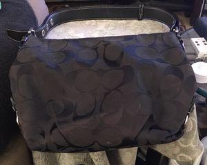 Black coach purse for Sale in Ambridge, PA