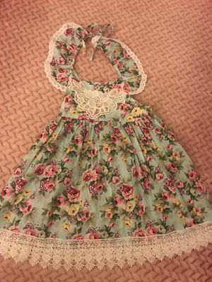 Toddler Flower Dress Size 4-5T for Sale in Hesperia, CA