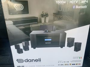Home Theater System Bluetooth 1500 Watts for Sale in Laurel, MD