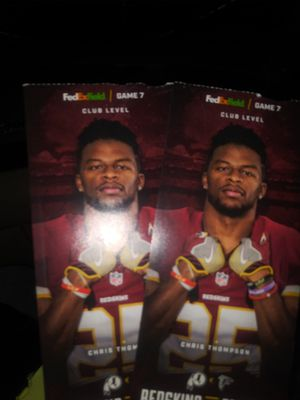 Redskins and Falcons today for Sale in Washington, DC