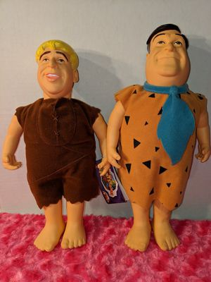 Fred and Barney Dolls for Sale in Tacoma, WA