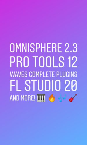 Music Softwares super pack! (Daws, Vsts, Plugins & More) for Sale in Fayetteville, GA