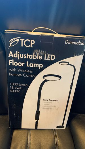 LED floor lamp for Sale in Tomball, TX