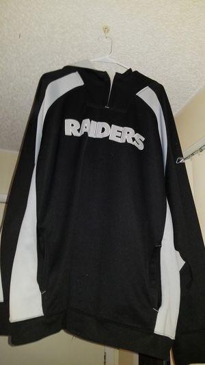 Oakland raider Reebok hoodie for Sale in Denver, CO