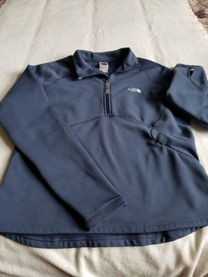 The north face 1/4 zip pullover shirt sz large for Sale in Bellaire, MI