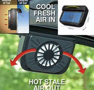 Solar Powered Car Air Vent Cool Fan for Sale in Las Vegas, NV