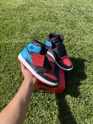 Jordan 1 Retro High NC to Chi Leather (W) Size: 9W, 7.5M for Sale in Palmdale, CA