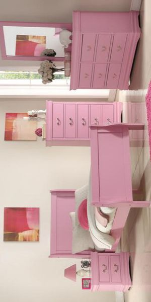 Louis Philippe Pink Sleigh Youth Bedroom Set for Sale in Brooklyn, MD