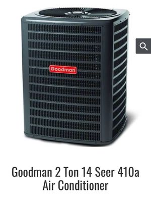 Goodman 2 Ton 14 seer 410a Air conditioner for Sale in Rockville, MD