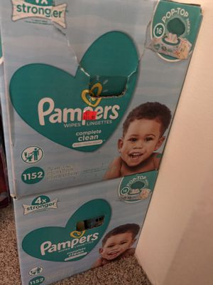Pamper wipes for Sale in Naperville, IL