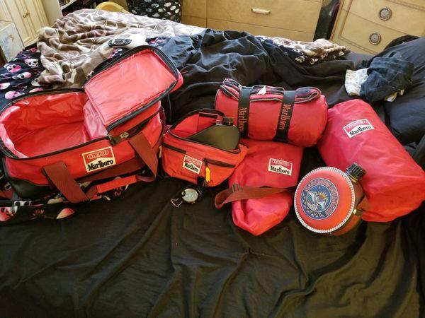 Marlboro camping gear