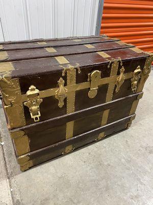 Antique Drucker 1800s Steamer Trunk for Sale in Las Vegas, NV