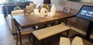 Table + bench + 4 chairs for Sale in Woodbridge, VA