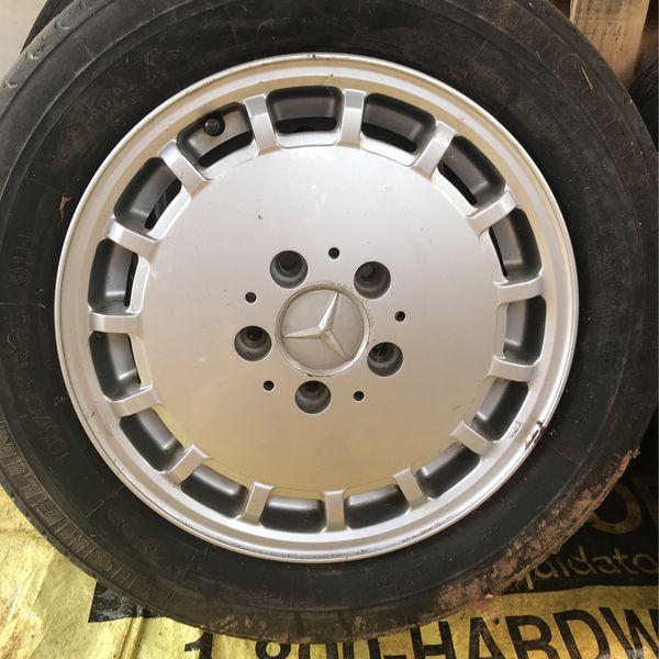 Benz Rims 15 Inch Original (4 Wheels)